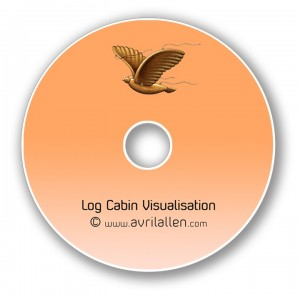 AAA disc Log Cabin - new Log Cabin Visualisation